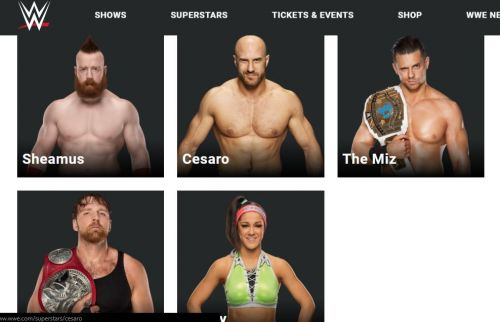 WWE Featured Stars for TLC