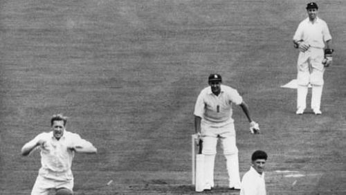 Adcock was the first South African to a 100 Test wickets