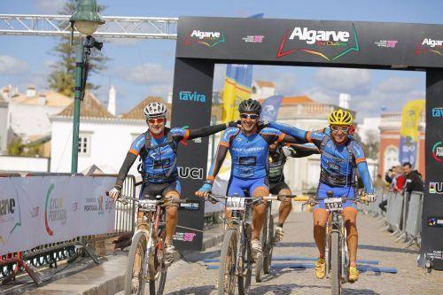 Fundación Josep Carreras contra la Leucemia at the Algarve Bike Challenge in Portugal