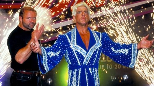Ric Flair claimed that he slept with 10,000 women