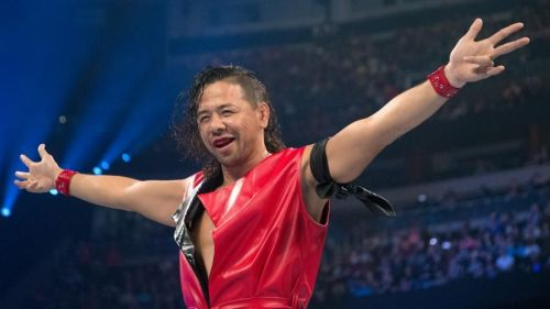 The King Of Strong Style didn't appear on TV this week but was in action after the show came to a close.