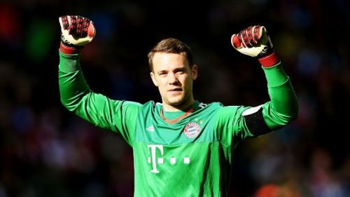 Manuel Neuer leads the list yet again.