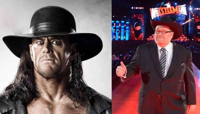 The Undertaker and Jim Ross are close friends in real life.