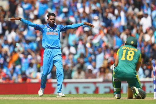 The Baroda cricketer made 83 runs off 66 balls in a partnership of 118 runs with