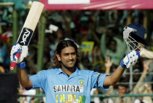 MS Dhoni produced a scintillating display against Sri Lanka in 2005 at Jaipur