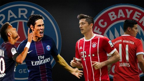 Both PSG and Bayern have impressive forwards line, which makes this fixture a game of top quality attacking football