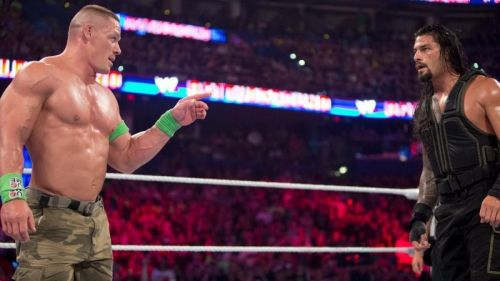 Roman Reigns scored a huge win over John Cena at RAW's No Mercy PPV.