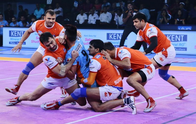 5d8ee9bd63 Haryana Steelers vs Puneri Paltan  Pro Kabaddi 2017 today s match probable  playing 7 for Haryana vs Pune
