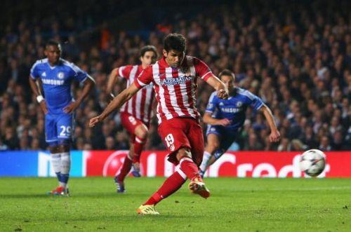 Chelsea v Club Atletico de Madrid - UEFA Champions League Semi Final