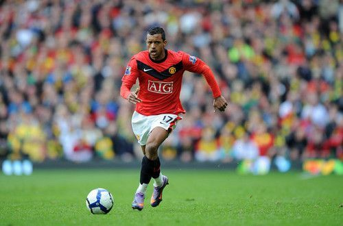 Former United player Nani is a surprising inclusion
