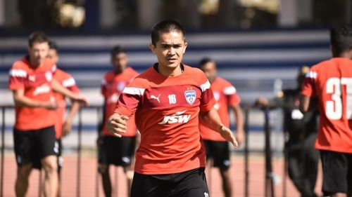 Sunil Chhetri will be leading the Blues in Pyongyang
