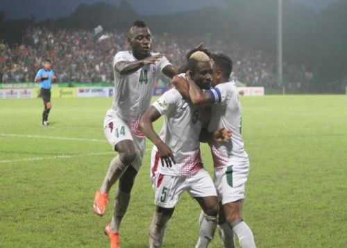 Mohun Bagan beat Mohammedan in stoppage time today
