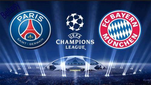 UEFA Champions League 2017/18 - PSG VS Bayern Munich ...