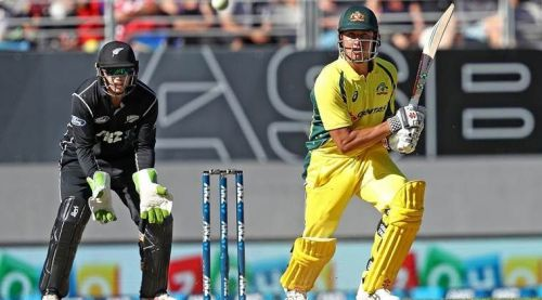 Chasing 286, Australia were all-out for 280 where Stoinis scored 146* with 11 sixes