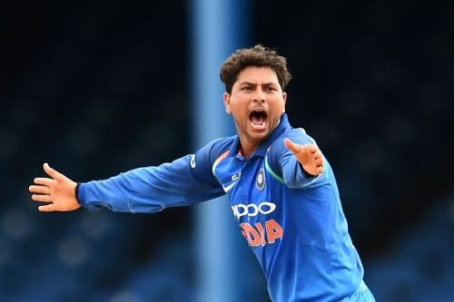 Yadav became the first Indian spinner to take an ODI hat-trick.