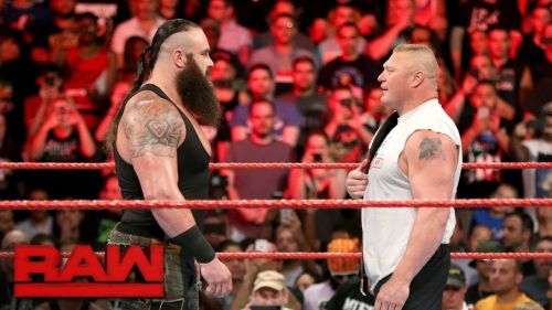 Braun Strowman and Brock Lesnar