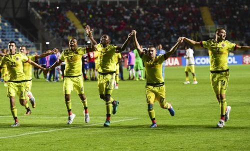 """The Colombian team is nicknamed """"Los Cafeteros"""""""