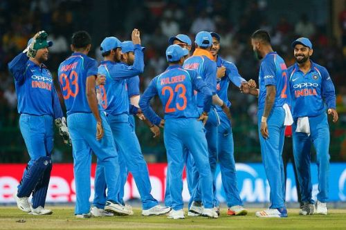 The Indian ODI team
