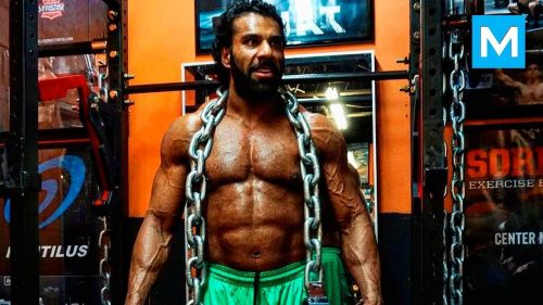 Jinder cares for the gym more than the ladies at this point in his career