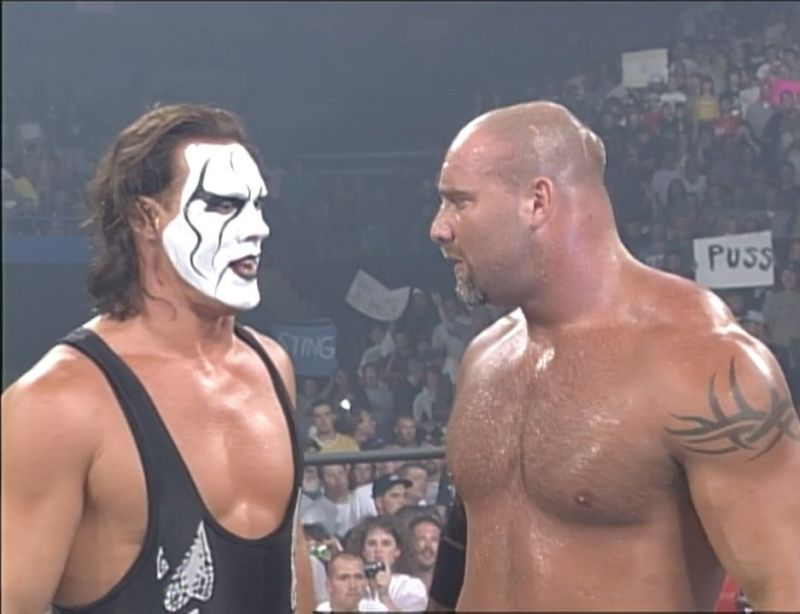 The WWE missed out on getting Sting and Goldberg in the early 2000s