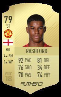 Rashford Fifa 18