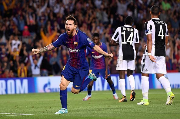 Champions League 2017/2018: Barcelona 3-0 Juventus, Player ...