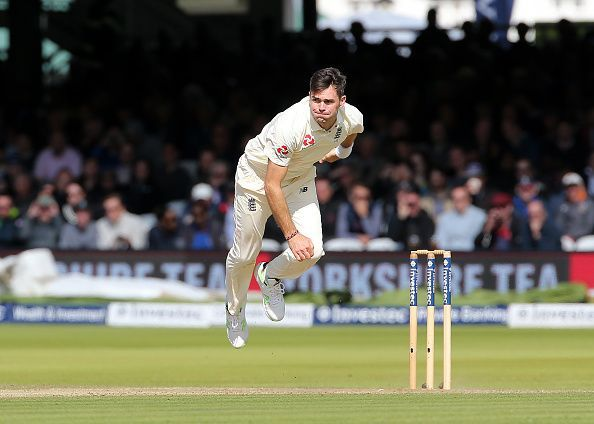 A textbook bowling action - Anderson