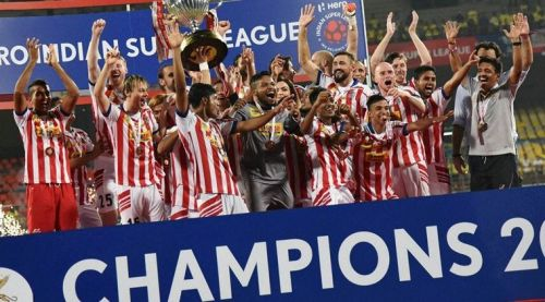 ATK are the defending champions