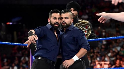 The Singh Brothers have some choice words for Shinsuke Nakamura