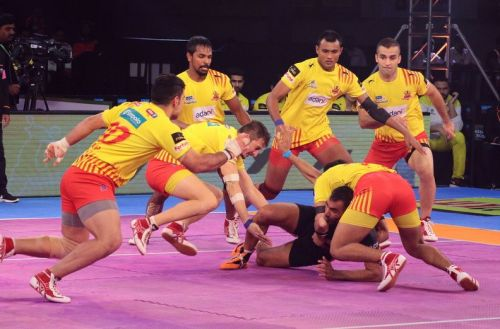 U Mumba were let down by their defence while Gujarat defence complemented the good work done by their raiders