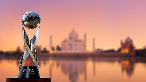 The FIFA U-17 World Cup winner's trophy