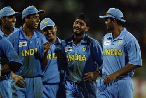 India produced a remarkable fightback to overcome South Africa in the 2002 Champions Trophy semi-final