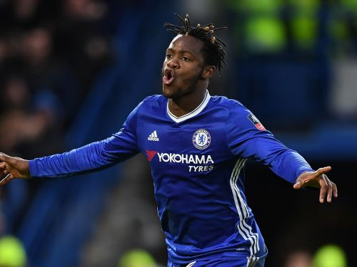 Batshuayi was clearly not pleased with his rating