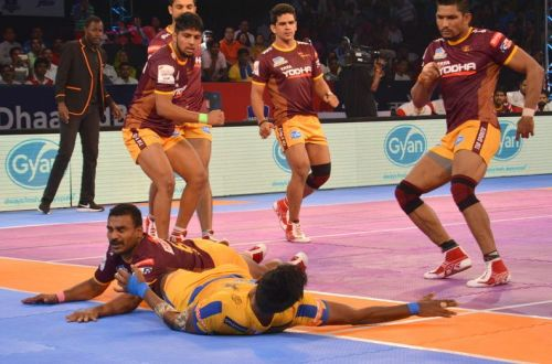 Tamil Thalaivas overcame a scoreline of 1-9 to achieve a magnificent win against UP Yoddha