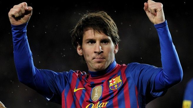 Messi became Barca's all time top scorer at the tender age of twenty four.