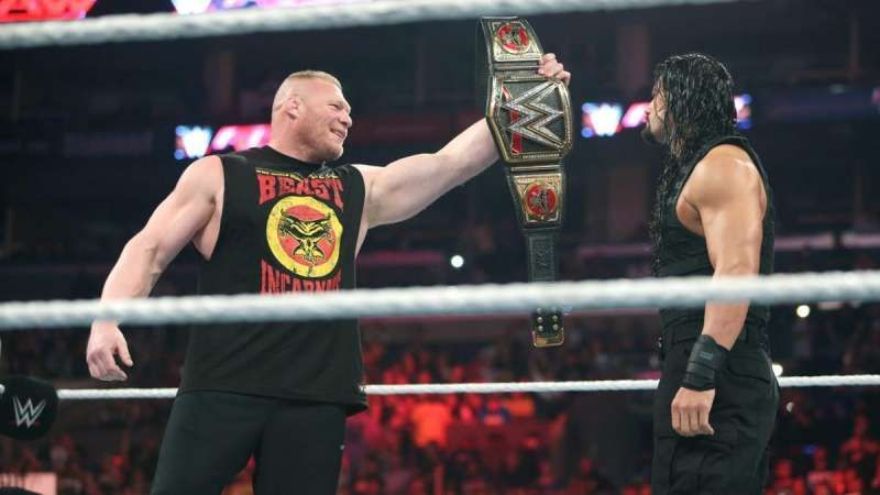 Roman Reigns Brock Lesnar