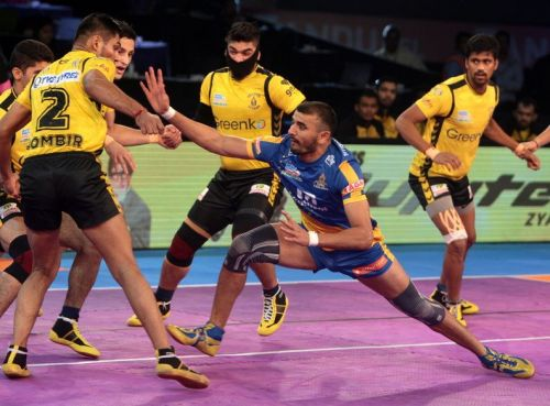 Ajay Thakur raiding