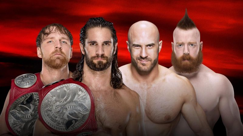 Image result for wwe no mercy 2017 tag team