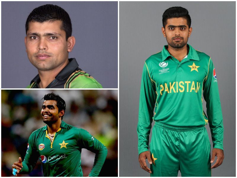 The Akmal brothers are Babar Azam