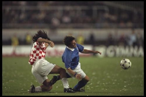 Del Piero could not lead Italy past the first round in the 1991 U-17 World Cup