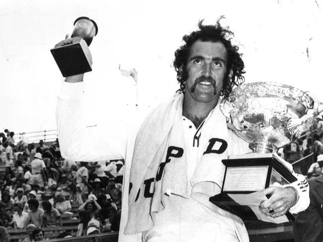 Mark Edmondson defeated heavyweights Ken Rosewall and John Newcombe to win the 1976 Australian Open