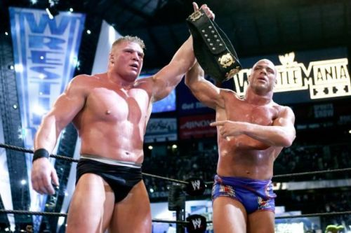 Angle vs Lesnar was a Feud of the Year winner