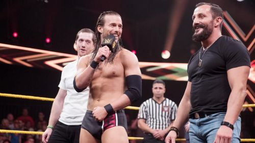 Cole, Fish and O' Reilly took their feud with SAniTy to the next level