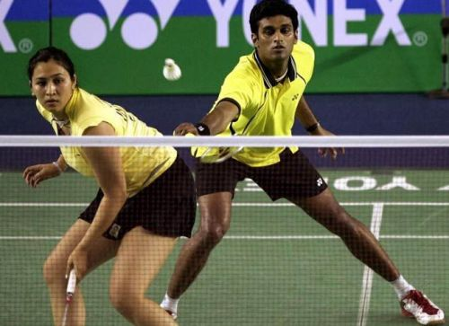 V Diju (right) will compete at the event