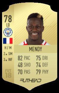 Mendy's FUT 18 card