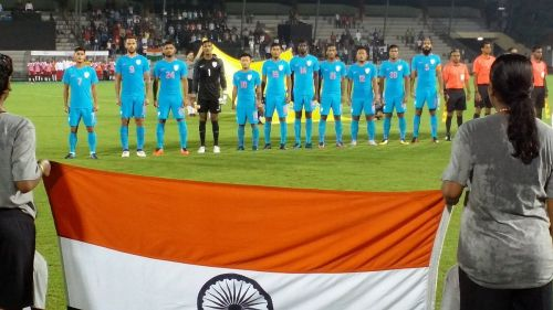 India are out of the FIFA top 100