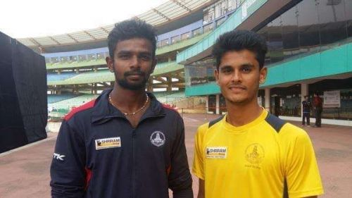 A file picture of Aswin Crist with K Vignesh