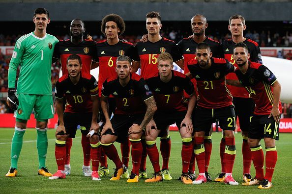 belgium football team players 2018