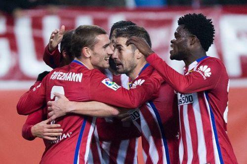 Club Atletico de Madrid v Rayo Vallecano de Madrid - Copa del Rey Round of 16
