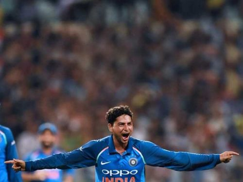 Kuldeep Yadav became the 5th Indian bowler to take a hat-trick in international cricket